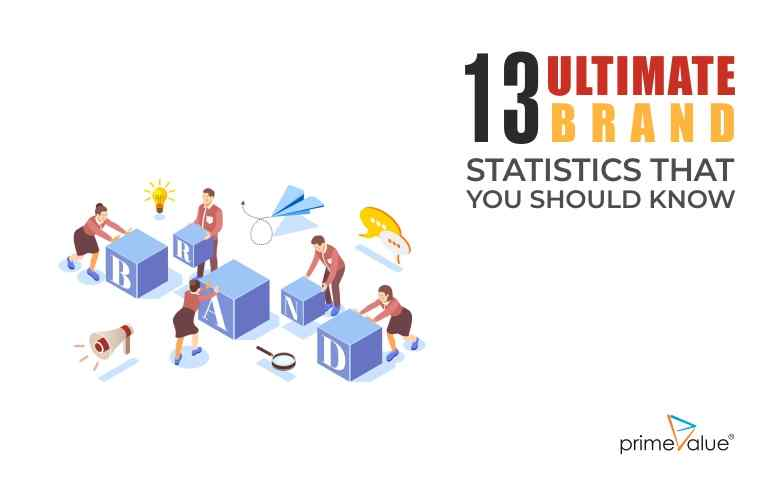 13 Ultimate Brand Statistics that you should know