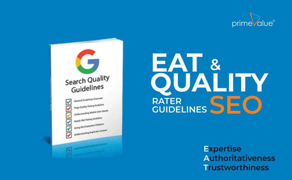 EAT & Quality Rater Guidelines SEO