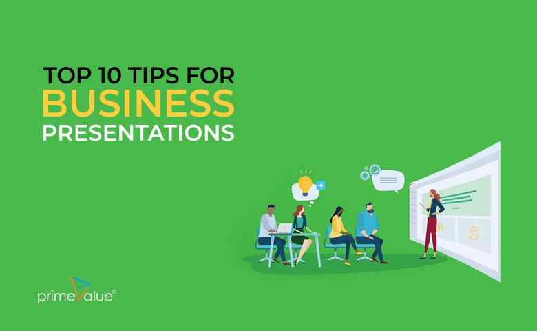 Top 10 Tips for Business Presentations